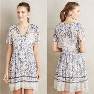 Maeve Morning Glory Swing Dress Floral Print